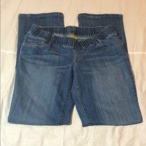 Old Navy Maternity Bootcut Jeans Sz 10 Long